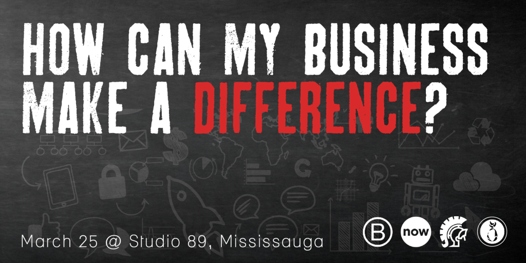 How can my business make a difference?