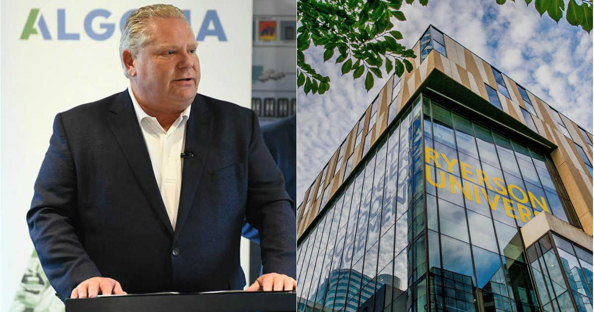 Doug Ford Disappointing Brampton Businesses by Cancelling University