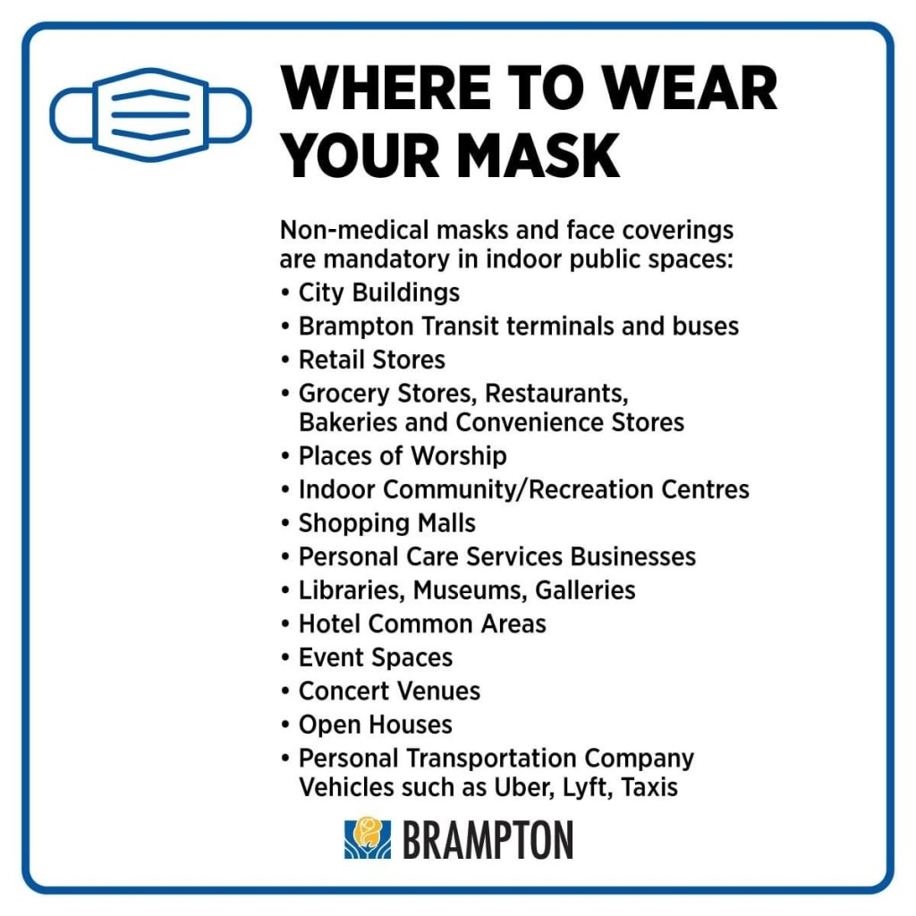 Wear a Mask Brampton
